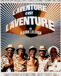 Affiche Aventure Paris Cinema Lelouch Beaune