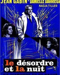 Affiche Desordre Nuit Paris Cinema