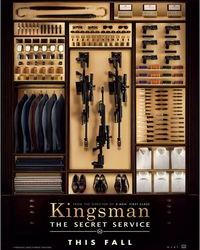 Affiche Kingsman Paris Cinema