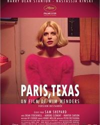 Affiche Paris Texas Paris Cinema