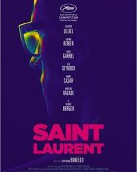 Affiche Saint Laurent Paris Cinema