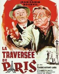 Affiche Traversee Paris Cinema