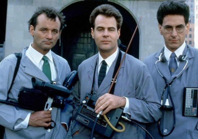 Bill Murray Aykroyd Ghostbusters 1984 Nuit Au Max Linder Panorama Anne Es 80