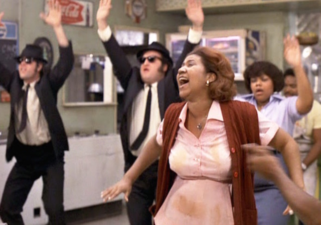 Blues Brothers Belushi Aykroyd Soundtrack Soul Chicago Aretha Franklin