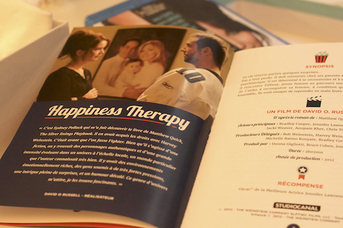 Box Cinema Livret Happiness Therapy