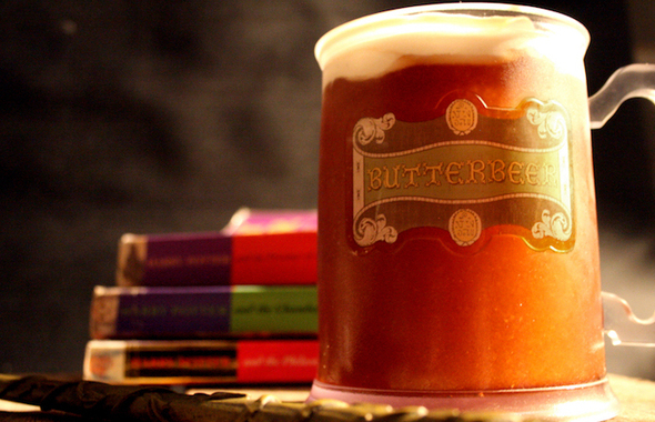 Butterbeer Biere Bieraubeurre Harry Potter Wizarding World Rowling Book Cinema