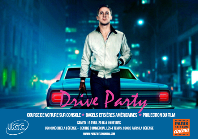 Drive party Visuel 1