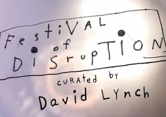 Festival Of Disruption Los Angeles Etats Unis Cine Ma David Lynch
