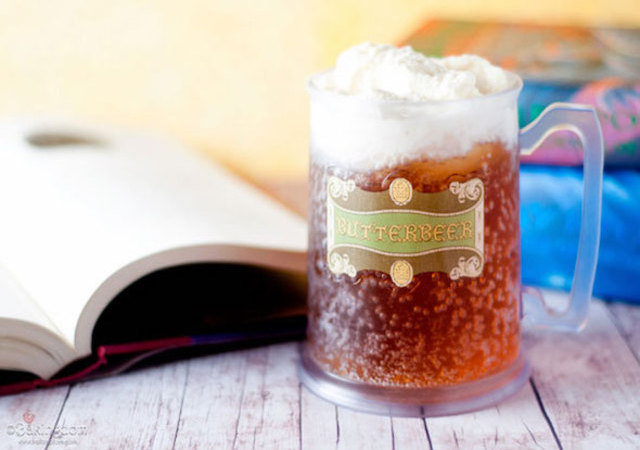 Homemade Butterbeer Bieraubeurre Rowling Harry Potter Biere Recette Originale Tudor Cinema