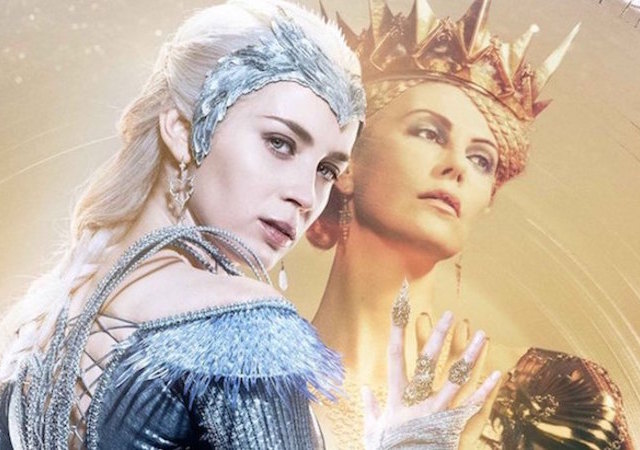 Huntsman Winter War 2 Charlize Theron Emily Blunt Cinema Blanche Neige Movie Africa Aids