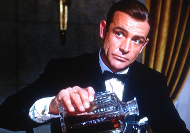 James Bond 007 Bourbon Sean Connery Cocktails