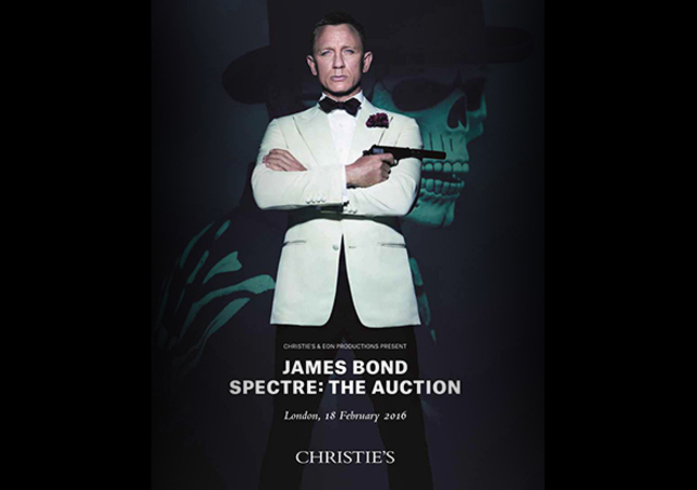 James Bond Vente Encheres Londres 590