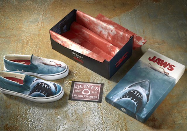 Jaws Shoes Chaussures Batrau Dents De La Mer