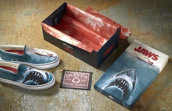 Jaws Sperry Chaussures Shoes Dents Mer