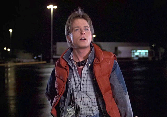 Look Marty Mcfly Retour Futur