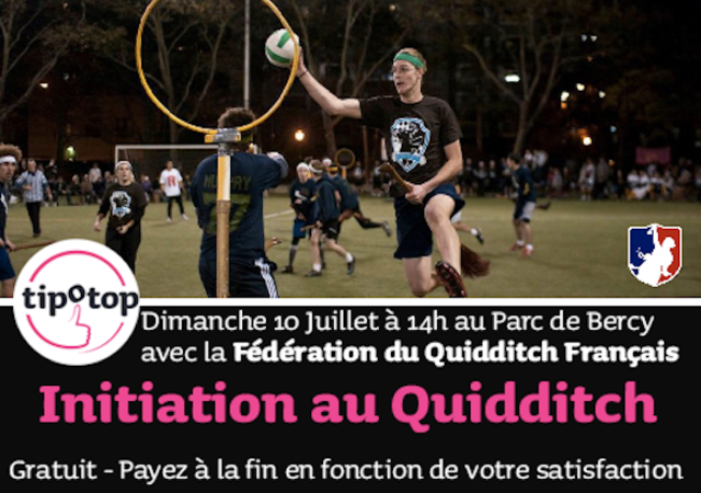 Quidditch Initiation Paris Cine Ma Harry Potter Parc De Bercy