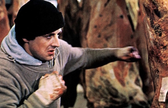 Rocky Entrainement Sport Stallone Cine Ma