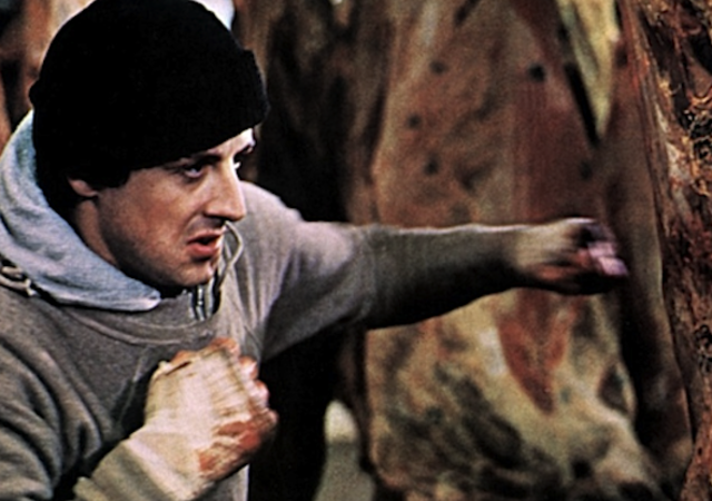 Rocky Stallone Entrainement Boxe Training Cine Ma