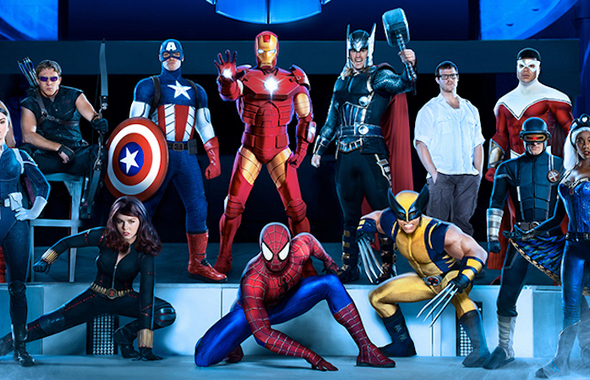 Spectacle Marvel Universe Live France Paris Accorhotels Arena Bercy