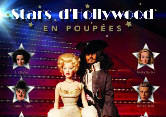 Stars Hollywood Poupees Musee Paris France Cinema Films Dolls