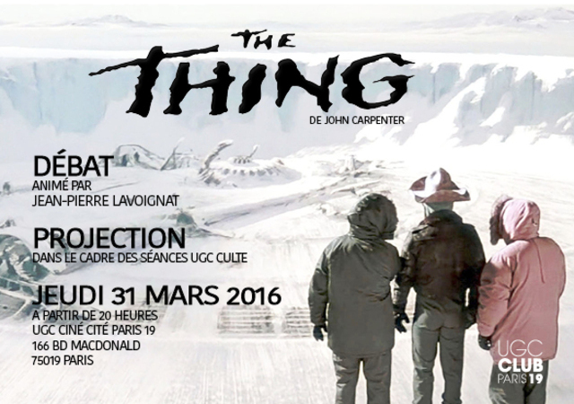 The Thing Paris Cinema Ugc 19