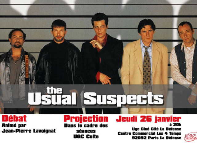 Usual Suspects Visuel
