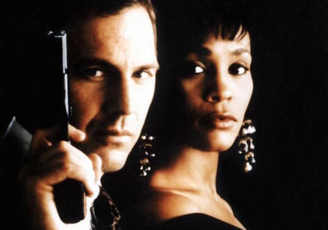 Whitney Houston Kevin Costner