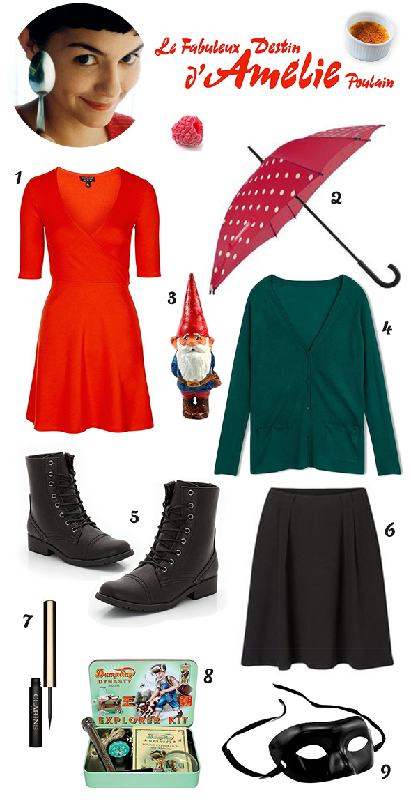 Amelie Poulain Look Outfit