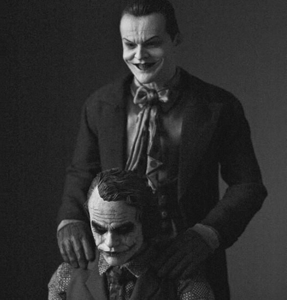 Batman Joker Exposition Dc Comics Galerie Sakura Ledger Nicholson Paris