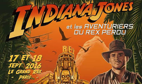 Indiana Jones Aventuriers Du Rex Perdu Paris Cine Ma Harrison Ford
