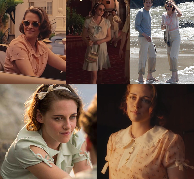 Kristen Stewart Cafe Society Look Mosaique