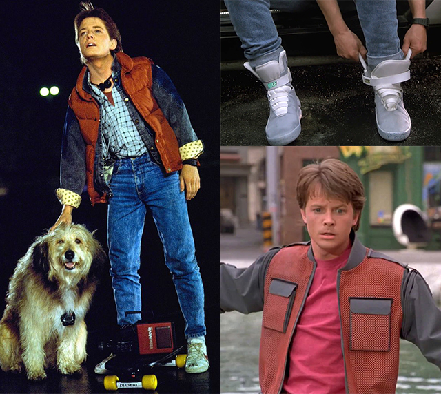 Marty Mcfly Look Retour Futur