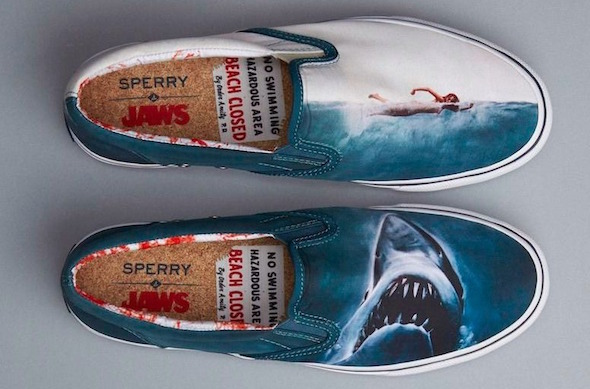 No Swimming Dents De La Mer Chaussures Sperry Shoes