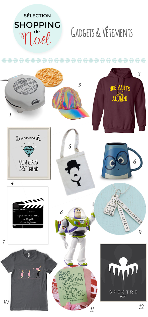 Noel Cinema Shopping Idees Cadeaux