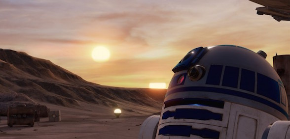 Star Wars Trial Tatooine Realite Virtuelle Htc Vive Force Awakens R2d2